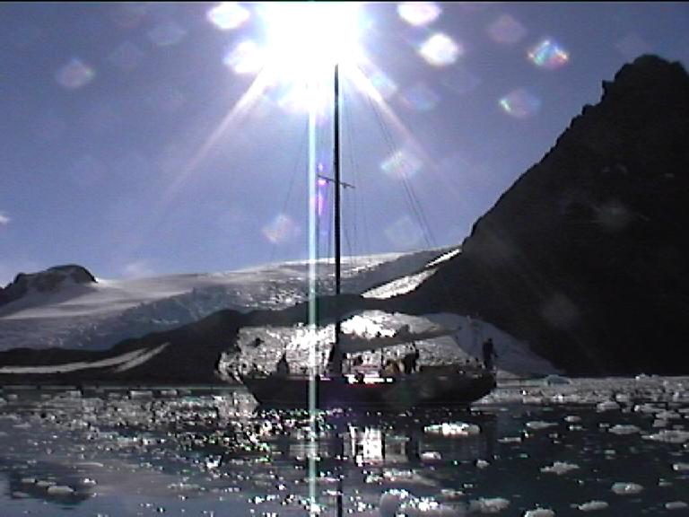Fragola fra i ghiacci
