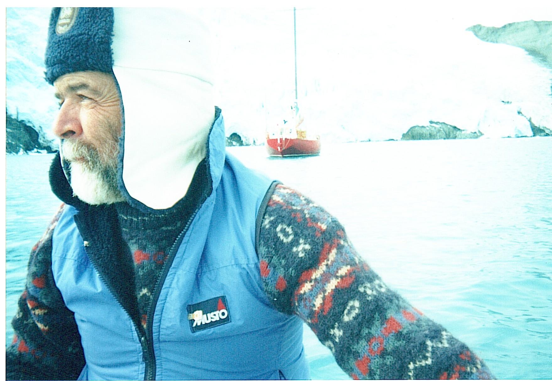 Leo in Antartide